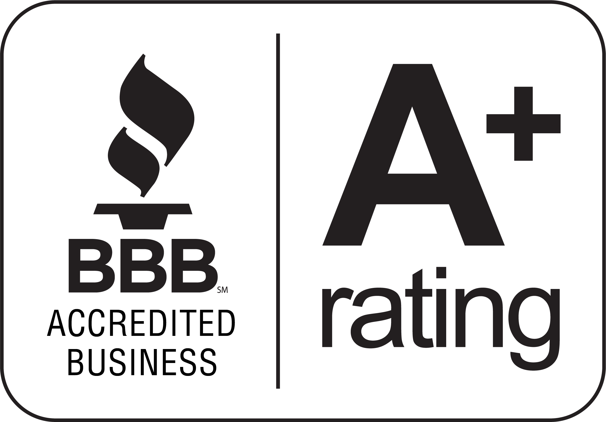 BBB A+ Rating Image - WC Painting & Associates